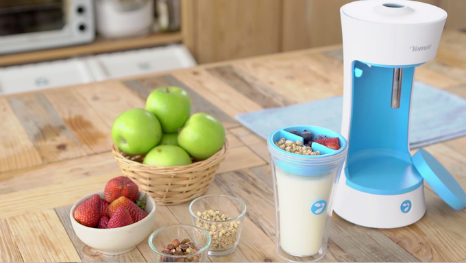 YOMEE - THE WORLDS FIRST AUTOMATIC YOGURT MAKER