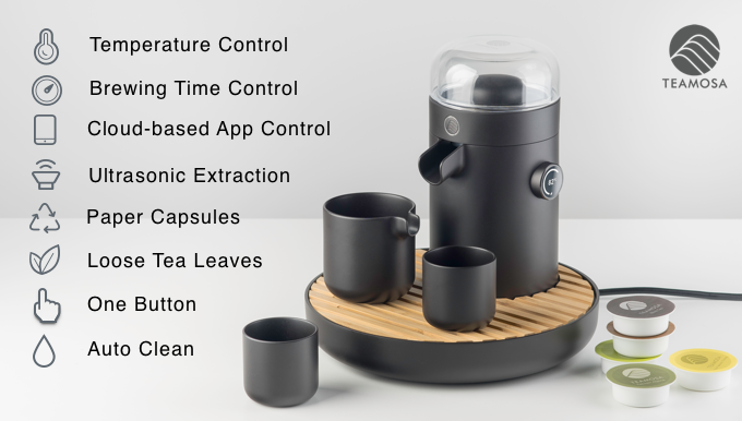 TEAMOSA: YOUR PERSONAL TEA BREWING MASTER