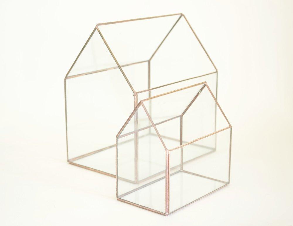 - GLASS HOUSES