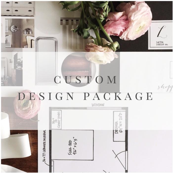 Custom Design Package
