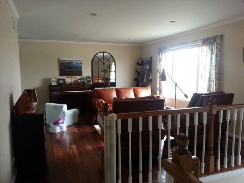 family room BEFORE