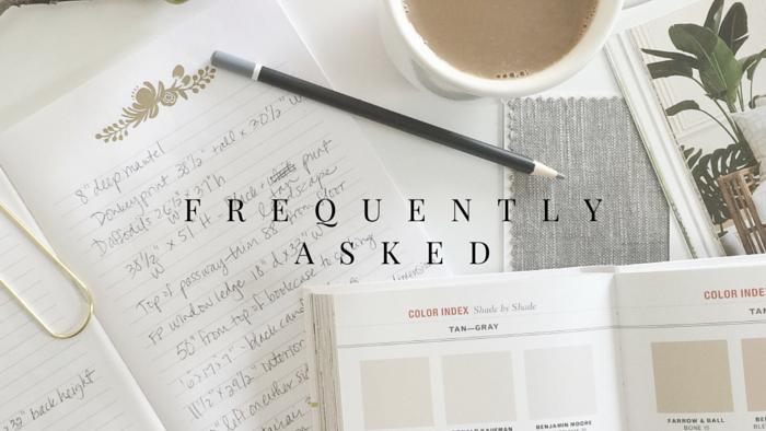 Interior Design FAQs