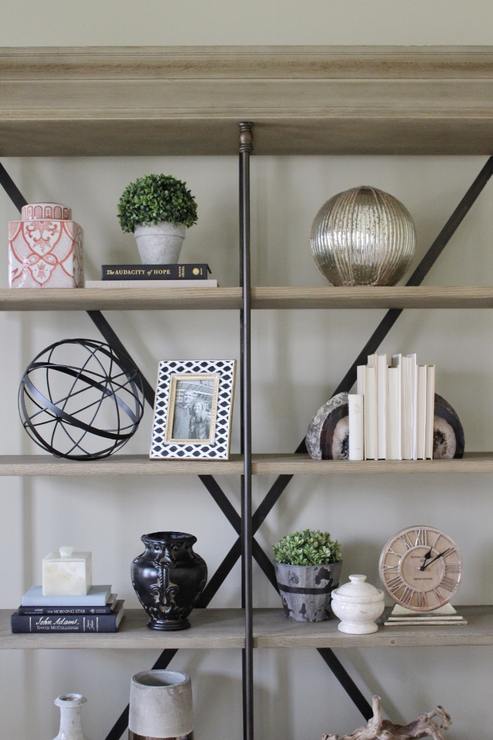 Shelf Styling Chicago Interior Design
