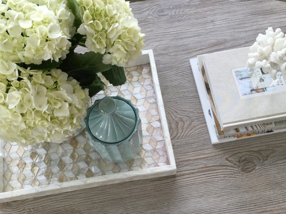 Coffee Table Styling by Laura Design Company