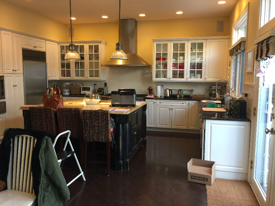 BEFORE photo, Lakeview Kitchen Reno- Laura Design Co.