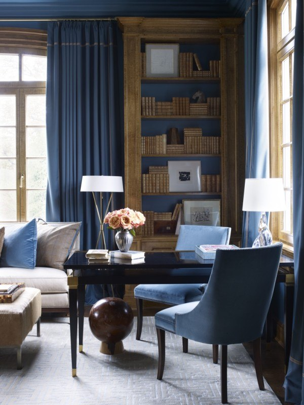 Design by Suzanne Kasler, via  Style Blueprint