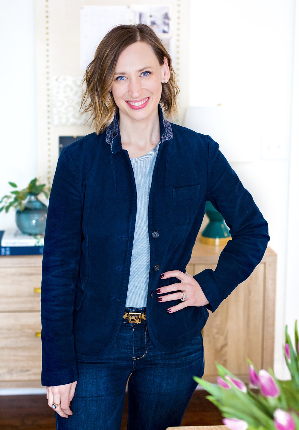 LAURA IRION - Laura Irion is co-owner, Principal Designer, and one half of the Lauras at Laura Design Company. Her years of experience in the commercial interiors and retail home furnishings industries led her to found the design blog, Avery Street, where her personal blog and remodeling projects have been featured by House Beautiful and Popular Mechanics Magazines, POPSUGAR Home, My Domaine, Apartment Therapy, and Mashable, among others. Her Instagram styling and photography has also been featured by several prominent brands and publications including Real Simple Magazine, Pottery Barn, IKEA, Design*Sponge, and The Every Girl. Laura holds a B.S. in Fashion Merchandising.Connect with Laura:  INSTAGRAM | PINTEREST
