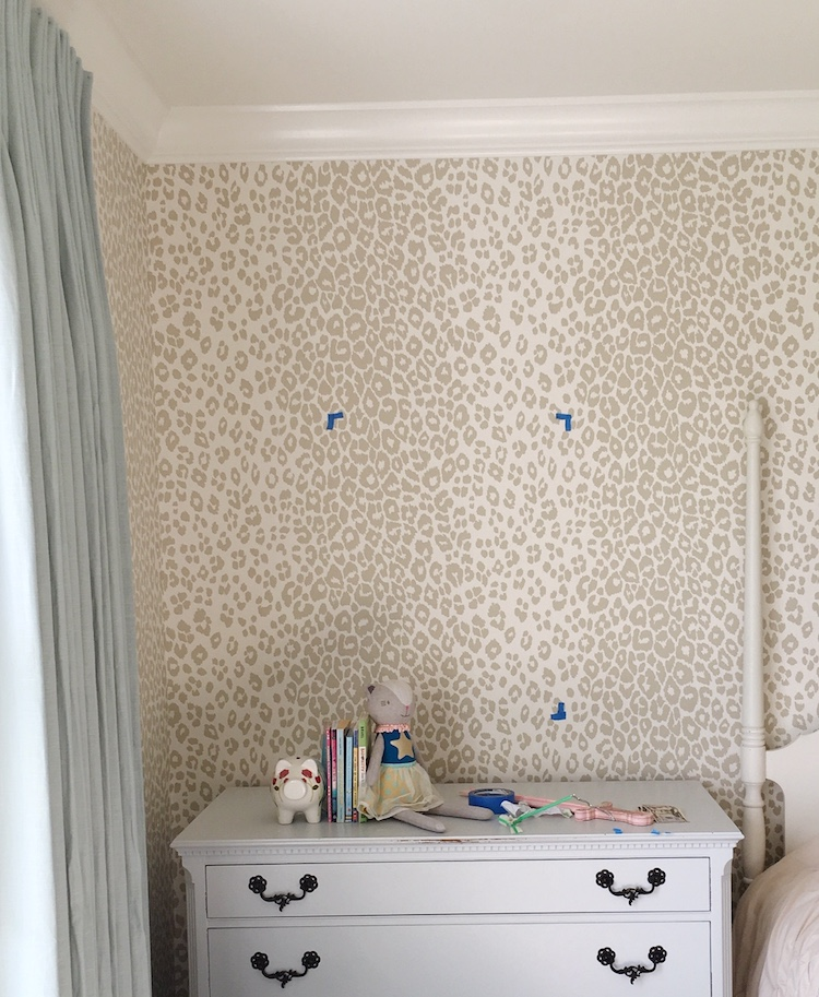Schumacher Iconic Leopard Wallpaper - Laura Design Co.