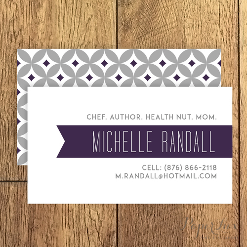 Business calling cards paperlux fine stationery calling card 4g reheart Choice Image