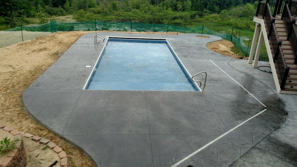 Coping Decks Fence Fox Pools