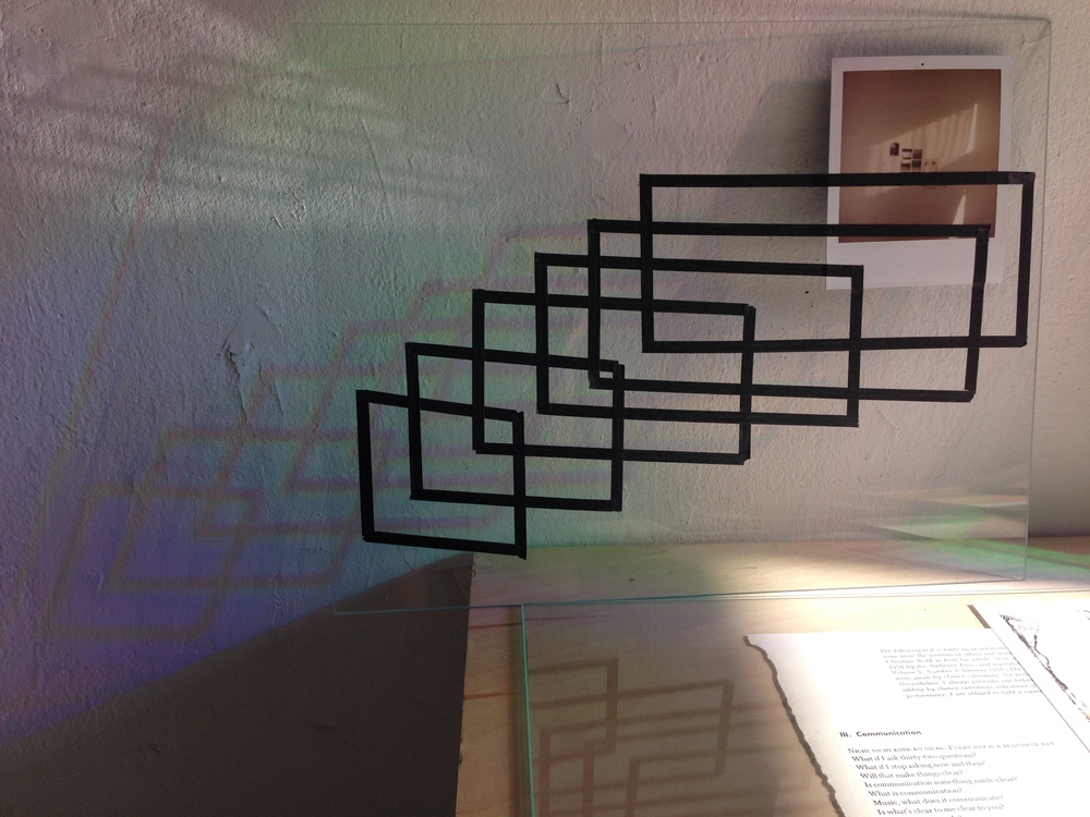 Reflection on Mapping the Light, 2013