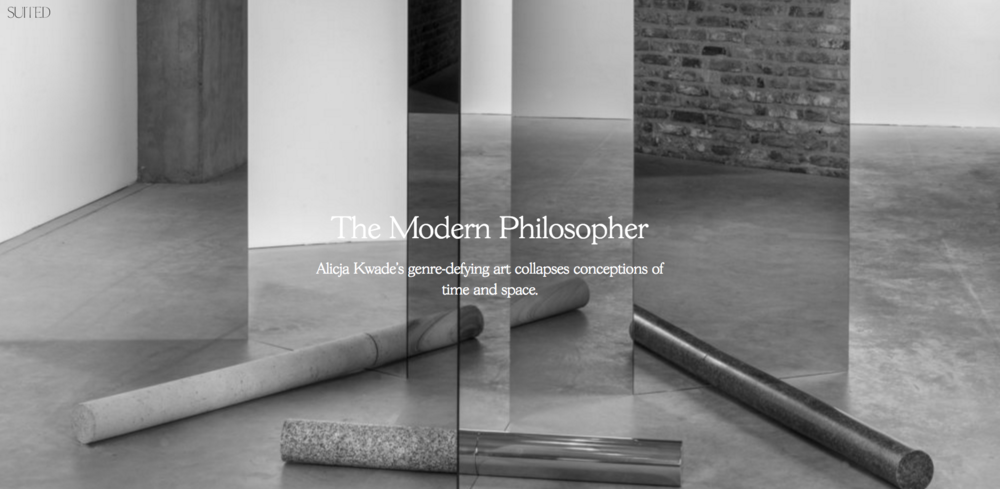 """The Modern Philosopher"" for SUITED Magazine, Issue IV"