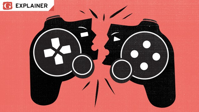 The best GamerGate image out there is this Gawker illo. RIP Gawker.