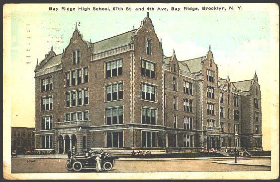 Bay Ridge High School circa 1920