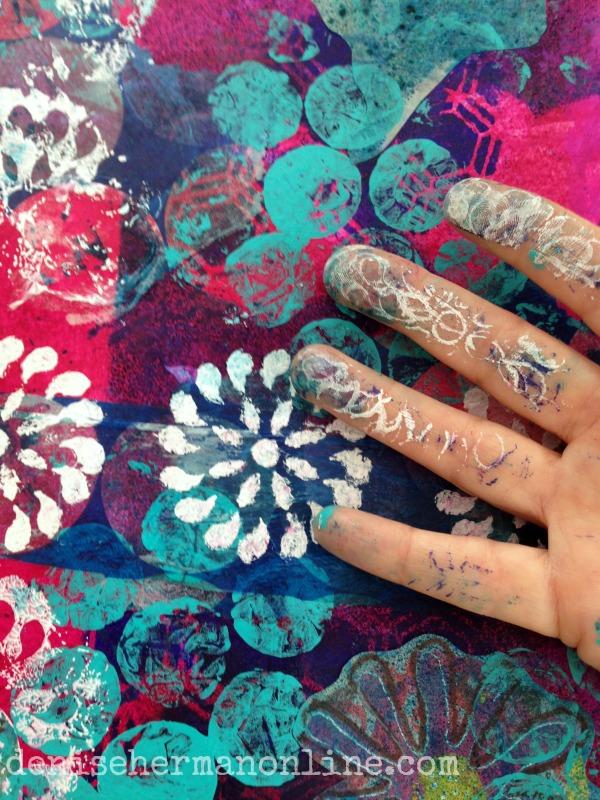 artsy fingers