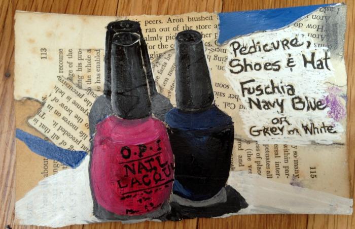 text nail polish