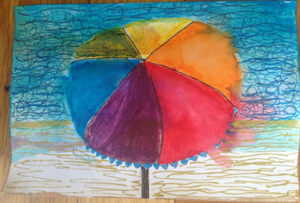 icad beach umbrella