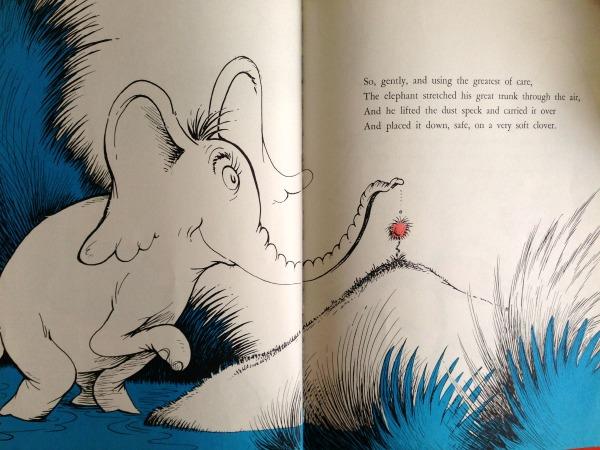 Dr. Seuss Horton page
