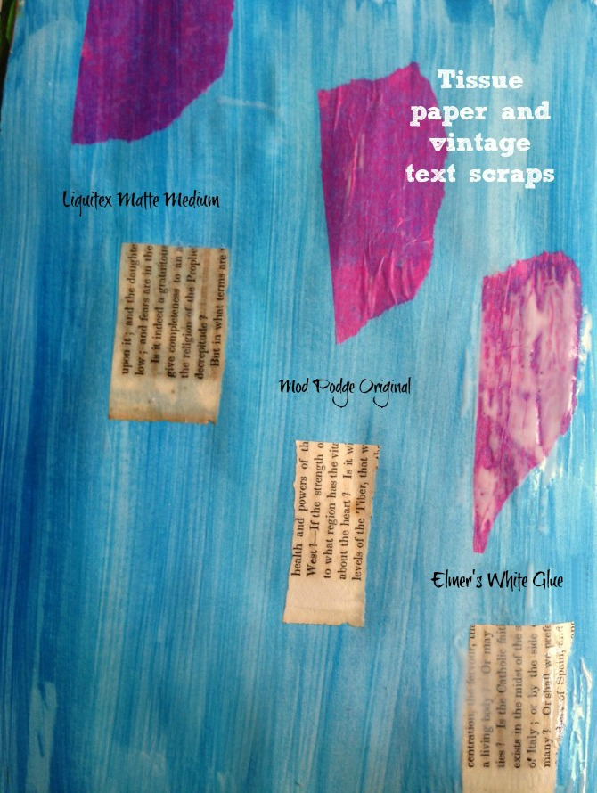 tissue&text page
