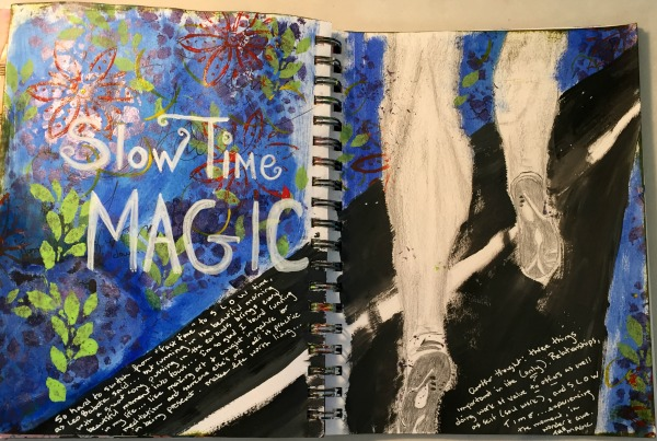 Art journal - slow time magic