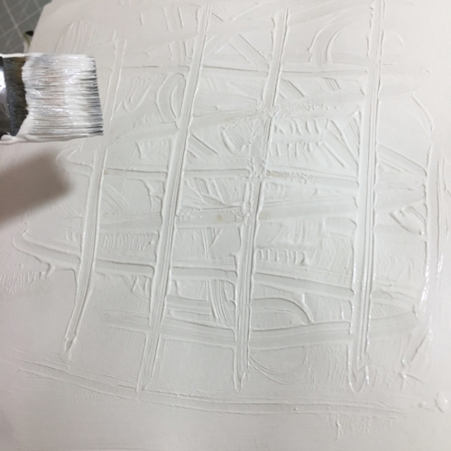 There are lots of fun things to do with Gesso