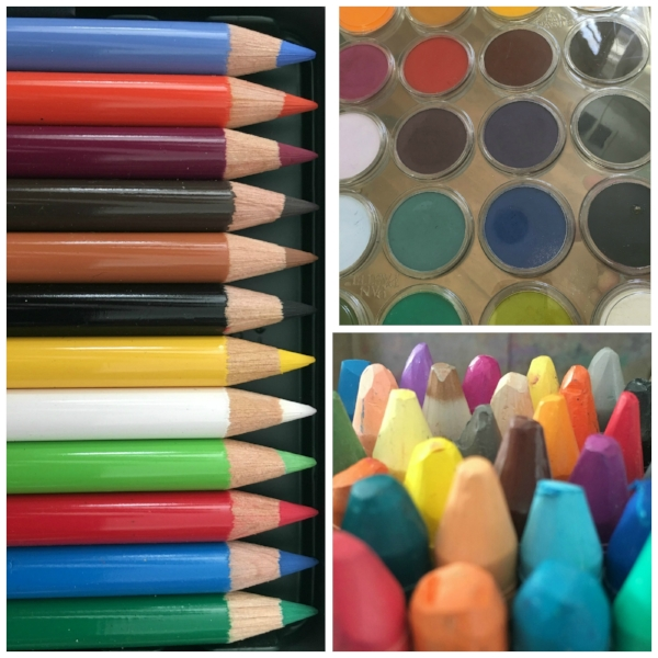 Loving mixed media means we love our art supplies!