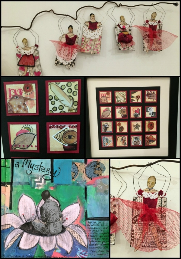 mixed media and art journal projects