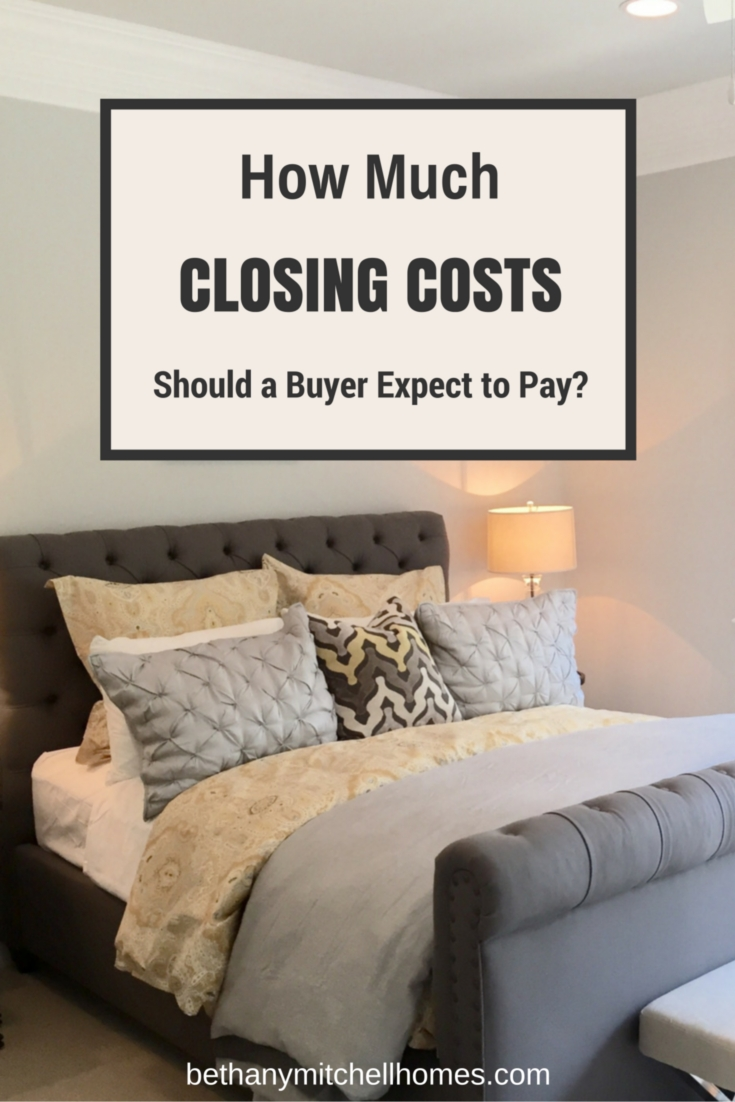 Bethany Mitchell Homes: How Much Closing Costs Should a Buyer Expect to Pay?