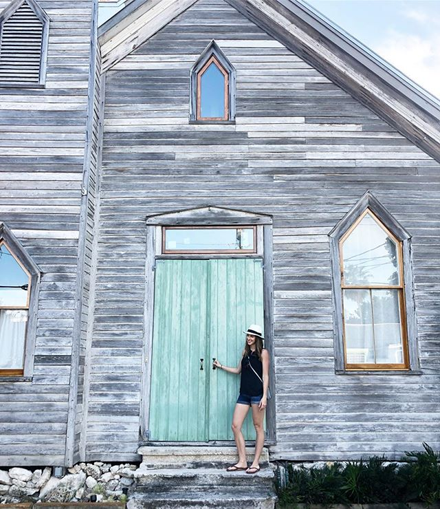 Insert funny caption about opening the door to your next home here  #tbt to @thefloridakeys