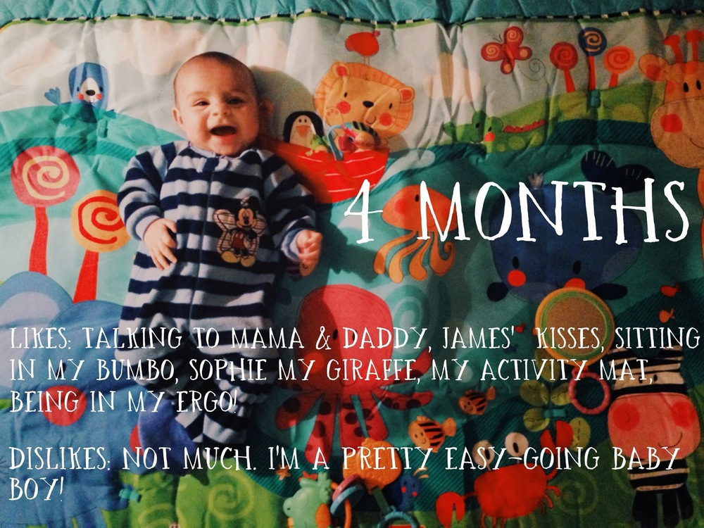 Happy 4 Months Henry Iluvframes Photography