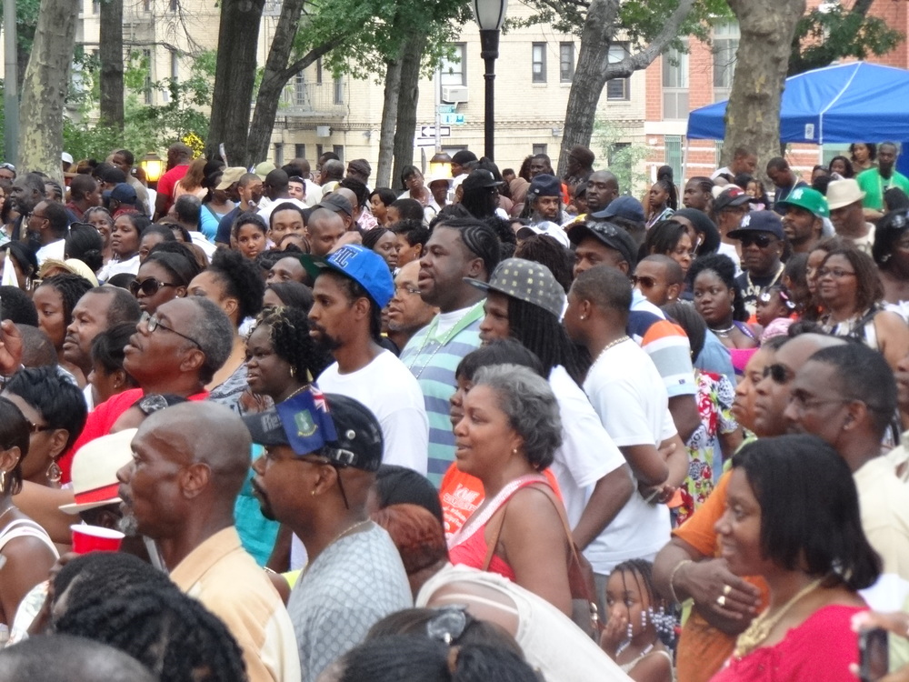 Delighted Faces of Crowd @ Caribbean Cultural Fest 2011.jpg