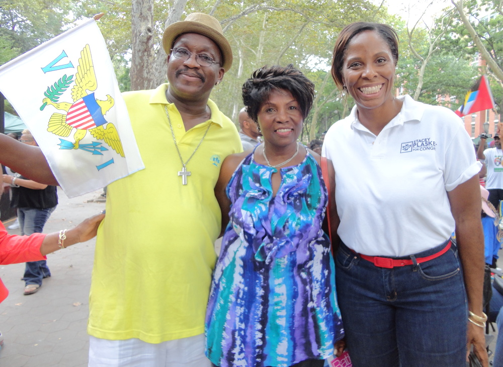 USVI Congresswoman Stacy Plaskett and Friends