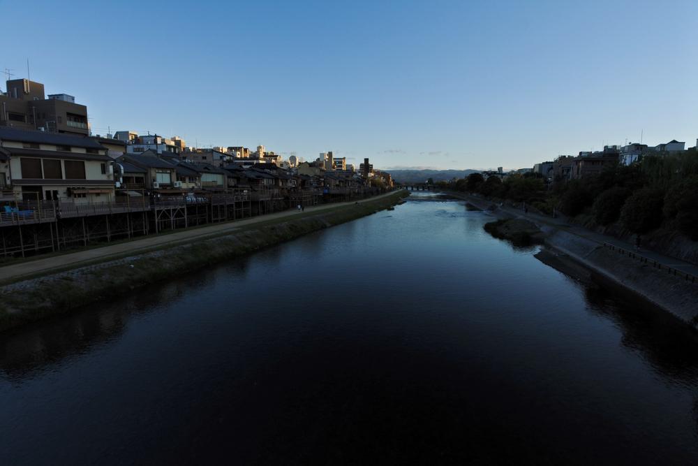 Kamogawa River (鴨川)