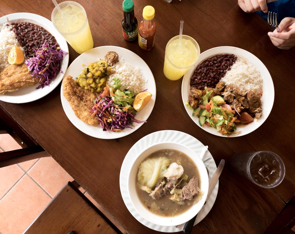 Lunch at Soda Jaco Rustico