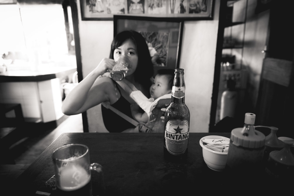 That ice cold Bintang beer was satisfying after a whole morning of sweating and touring.