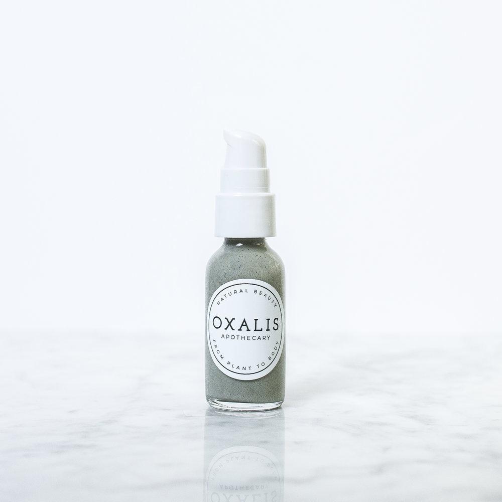Facial cleanser sample