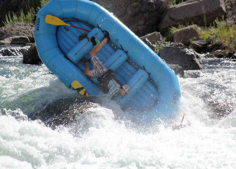 Bad day at Jaws Rapid - Truckee River