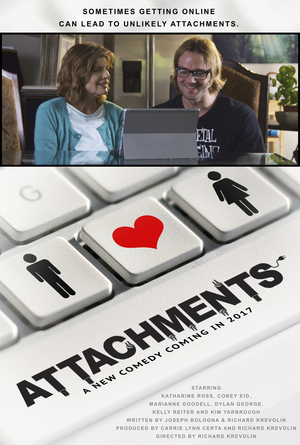 ATTACHMENTS (2017) Comedic Feature Film