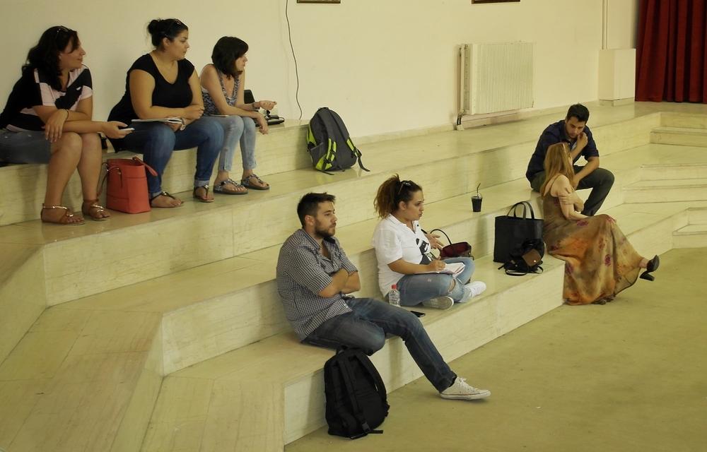 Συναντηση στο σχολειο