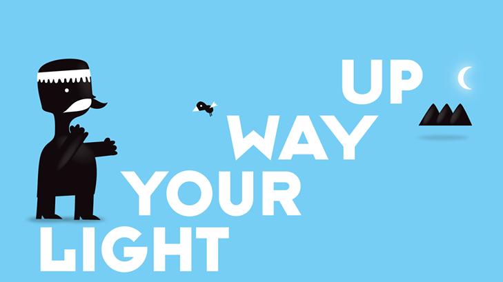 """Light your way up"" το επίσημο σλόγκαν του TEDxAnogeia."