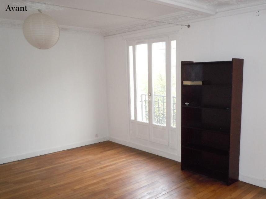 Appartement Haussmannien : avant