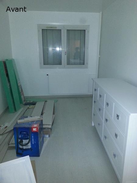 Décoration aménagement appartement Champigny-sur-Marne : avant