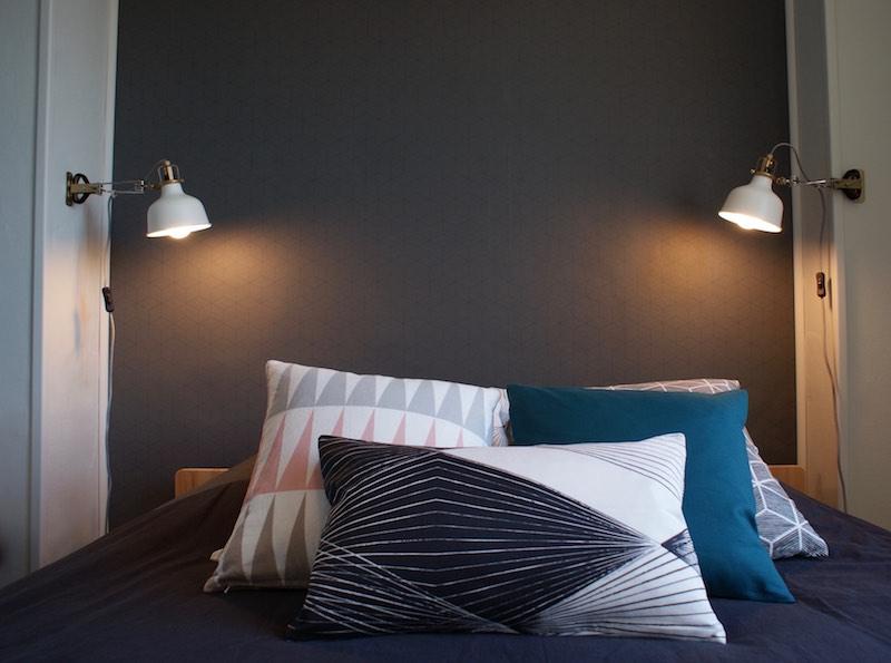 Décoration, aménagement petite chambre Paris 13 : style moderne