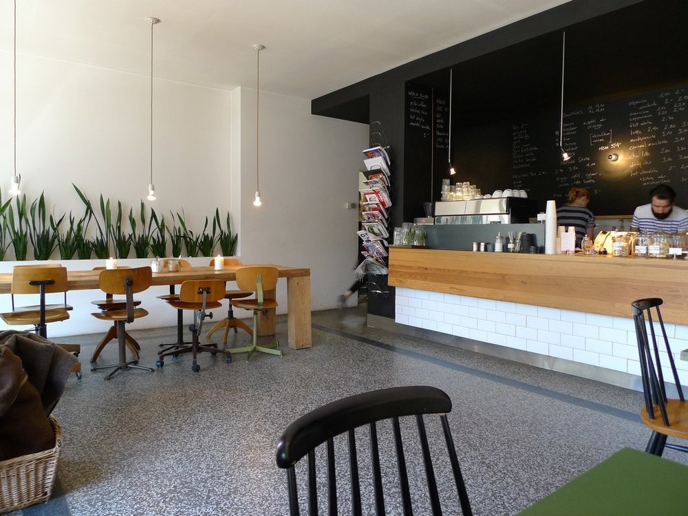 Interieur Cafe. Restaurant And Shop With Interieur Cafe. Awesome ...
