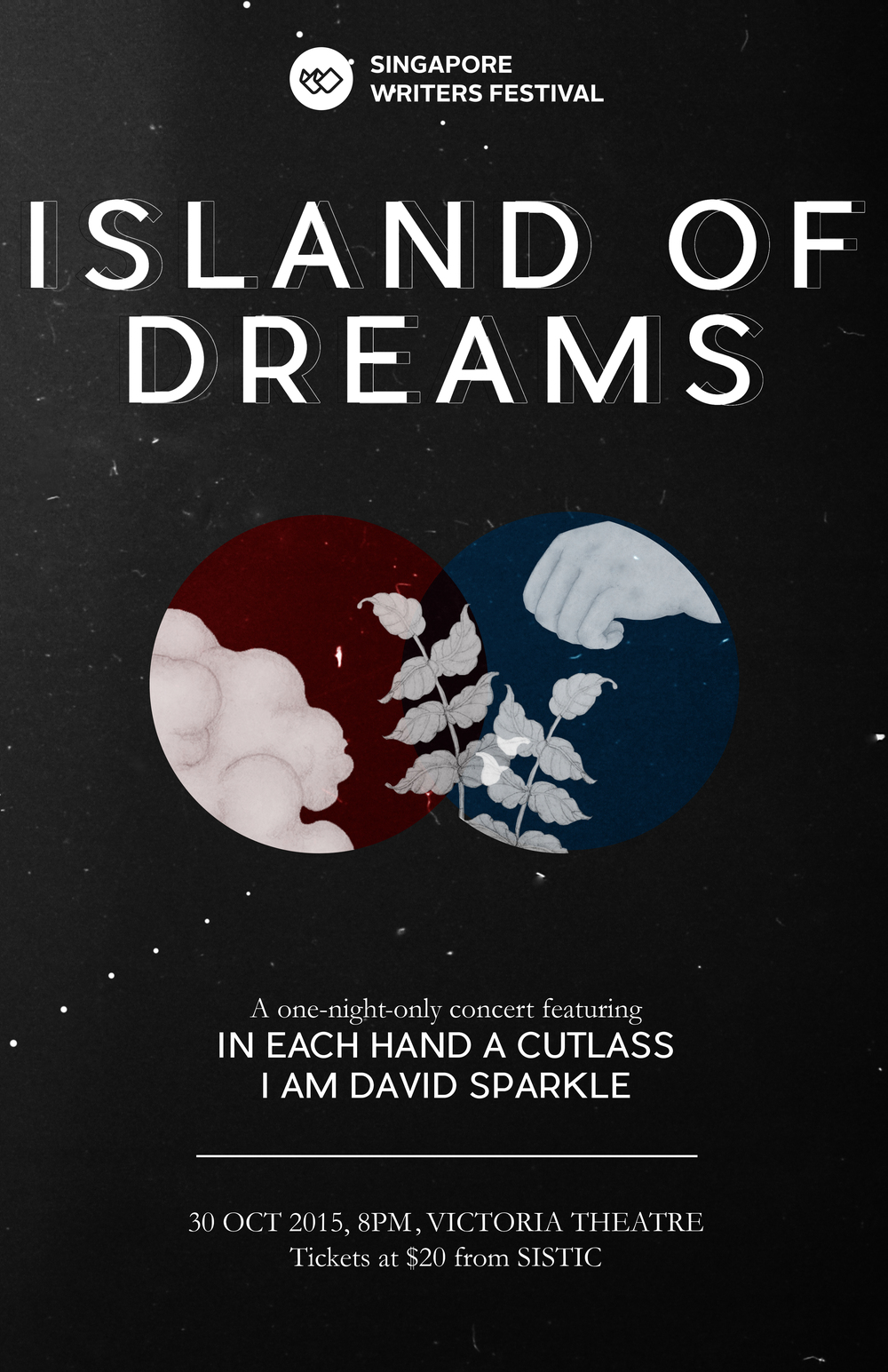 Island of Dreams : A one night only concert featuring In Each Hand A Cutlass and I Am David Sparkle