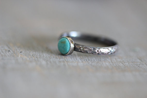 A ring similar to the one I was given. This one is made by Amy at Mossy Creek Studio