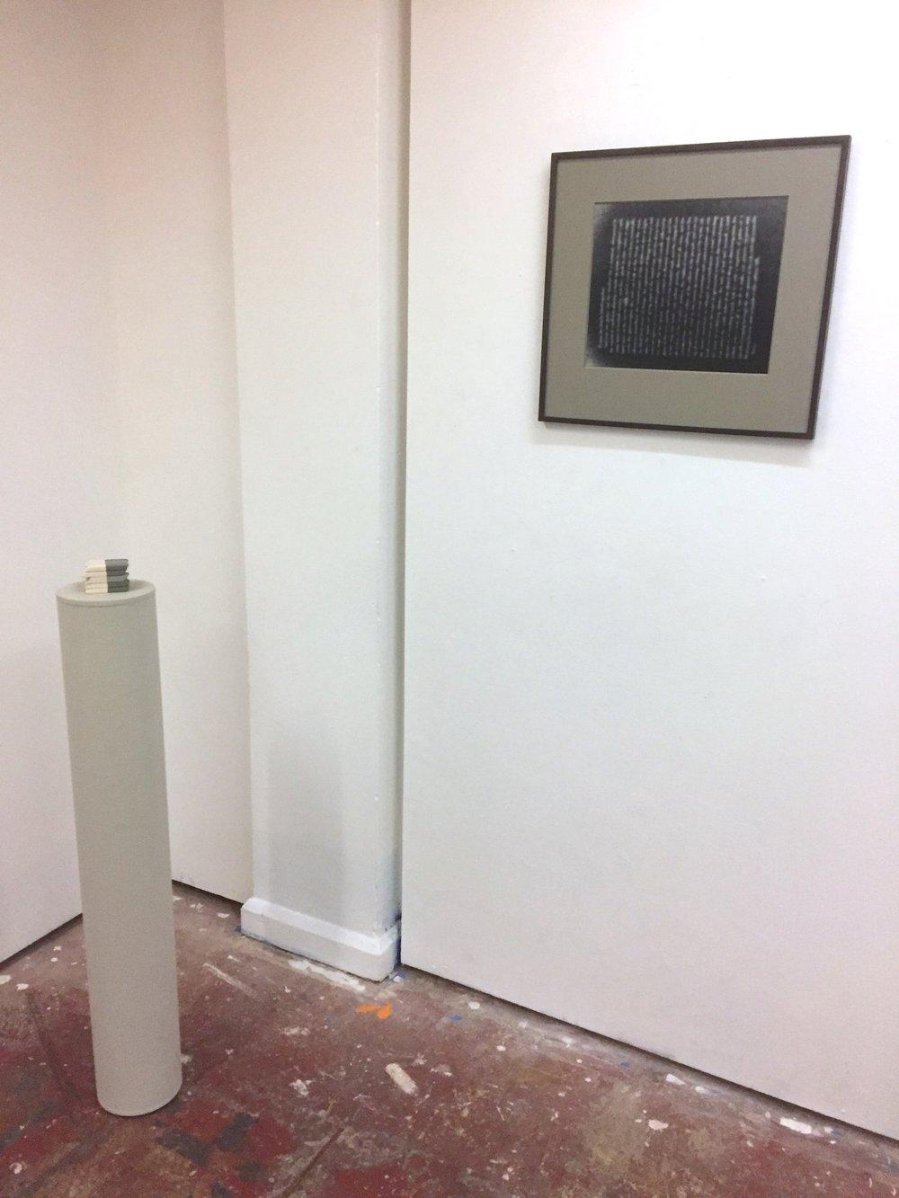 Installation view: Eraserheads (left); Underworld (right).