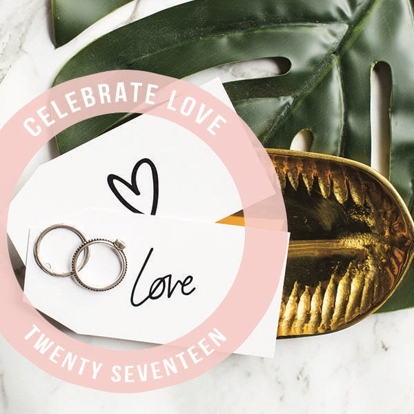 CELEBRATE LOVE - a gift guide to the wedding season. scroll down to view.