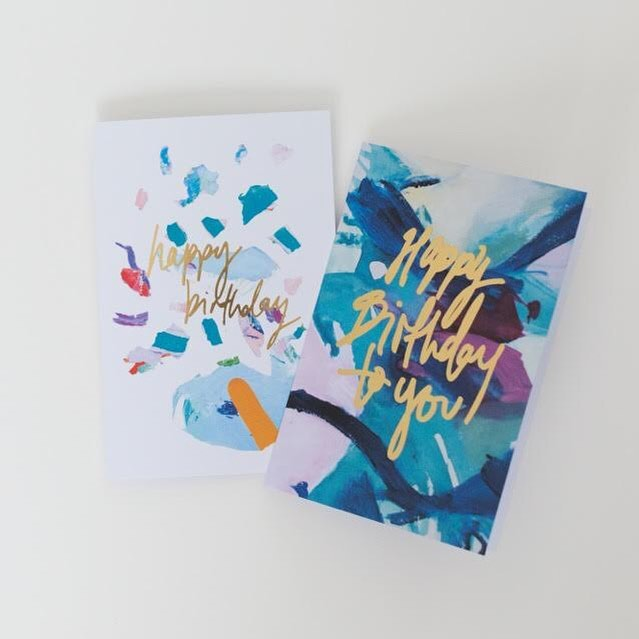 need birthday cards? We got you covered with eco friendly, original designs printed in Australia on vegetable and soy based inks. partnered with 100% recycled ✉️ #greetingcards #ecofriendly #recycled #abstract #original #design