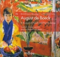 August de Boeck,  A Bouquet of French and Flemish Songs,  PHAEDRA
